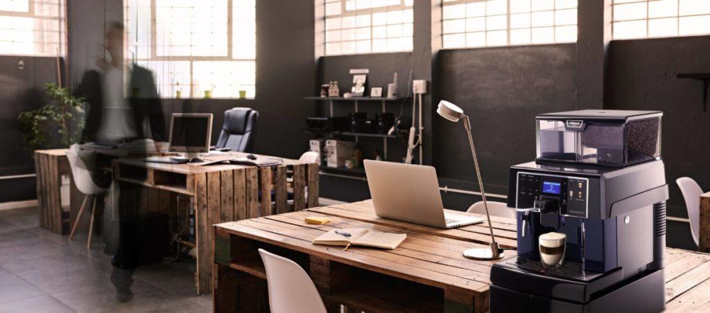 bureau, machine à café, pause