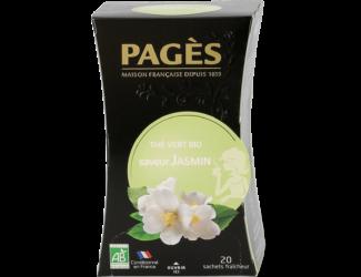 Thé vert bio Jasmin Pagès