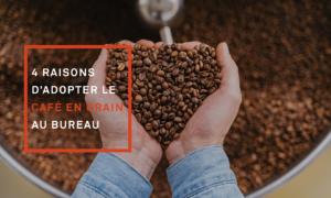 La machine à café en grain professionnelle